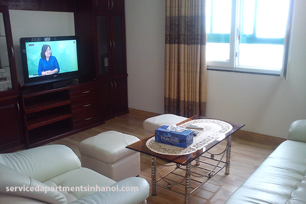 Opened view 2 bdrm apartment for rent in Hai Ba Trung