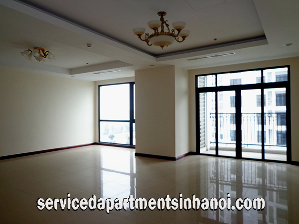 Party Furnished Spacious Three bedroom for lease in Vinhomes Royal City