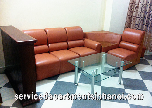 Private serviced apartment for rent near Tran Hung Dao street, Hai Ba Trung