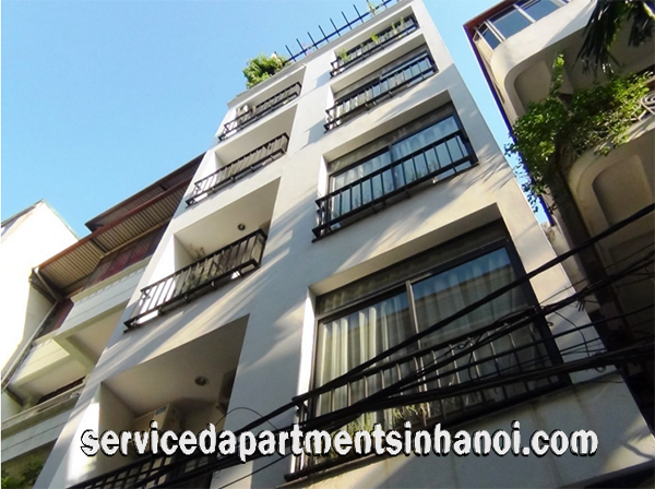 Quiet Serviced Apartment for rent in Kim Ma street