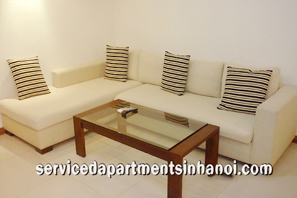 Quiet two bedroom apartment on Tran Phu str, Badinh