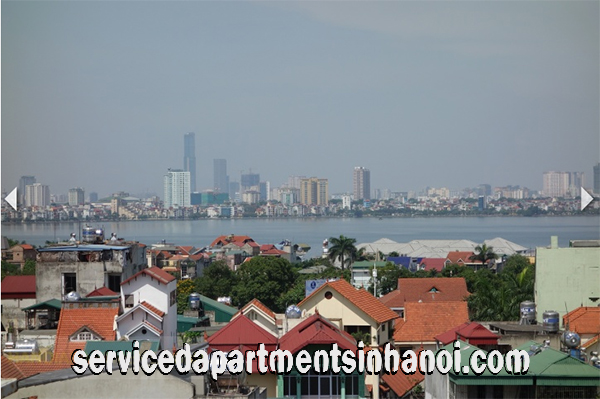 Very Spacious One Bedroom Apartment Rental in Nghi Tam str, Tay Ho, Beautiful View in Balcony