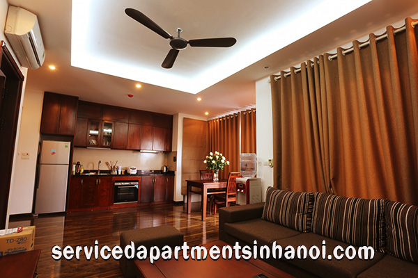 Rental one bedroom apartment in Cau Giay, High quality furniture, full services