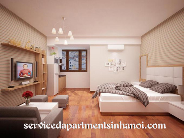Rental serviced apartment in Trung Yen area, Cau Giay, Brand new furniture