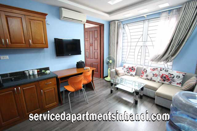 Serviced apartment near Thien Quang Lake for Rent