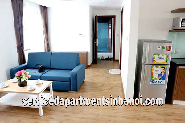 Shiny Serviced Apartment For Rent in Ly Nam De street, Hoan Kiem, Brand New Amenites