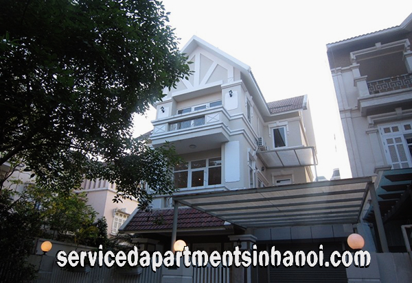 Spacious Five bedroom Villa for rent in T9 Ciputra, Hanoi, Suitable for a family or Friend shared