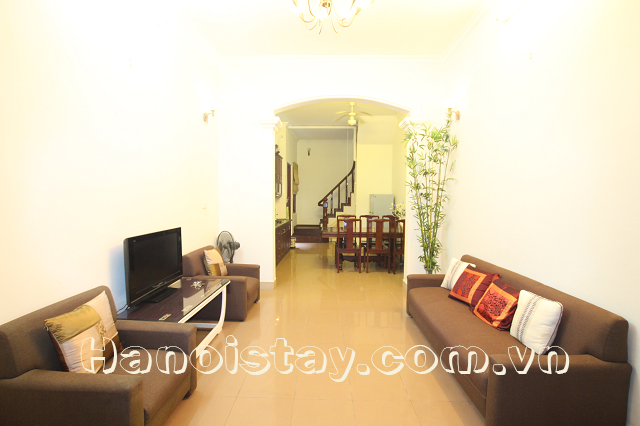 Spacious Four Bedroom House for rent in Hang Chuoi street, Hai Ba Trung