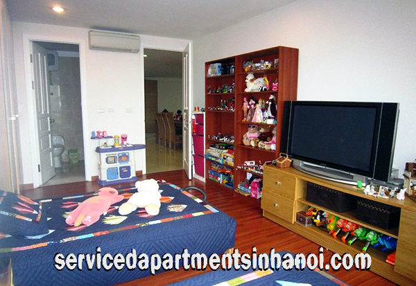 Spacious Fully furnished Four bedroom Apartment Rental in Ciputra, Tay Ho area