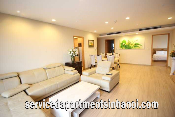 Spacious Modern Three Bedroom Apartment Rental In Sky City Building, Dong Da