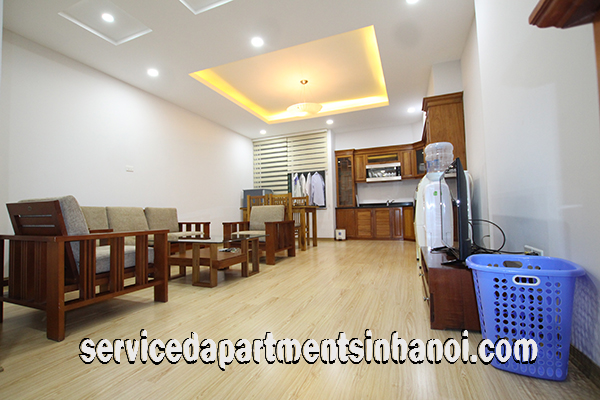 Spacious Serviced Apartment for Rent in Kim Ma str, Ba Dinh