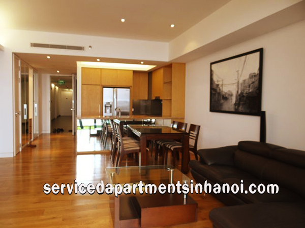 Spacious Three bedroom Apartment Rental in IPH, Cau Giay