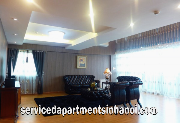 Spacious Three Bedroom  PentHouse Apartment for rent in P2 Ciputra, Tay Ho
