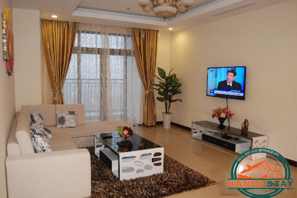 Great View Two bedroom Apartment Rental in R4 Building, Vinhomes ...