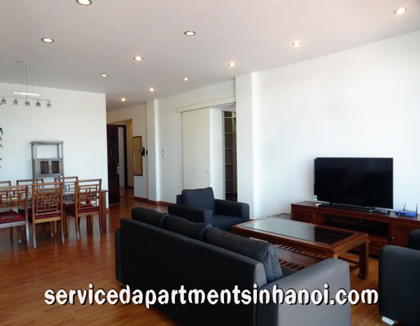 Special two bedroom apartment in Truc Bach Area, Ba Dinh, West Lake view