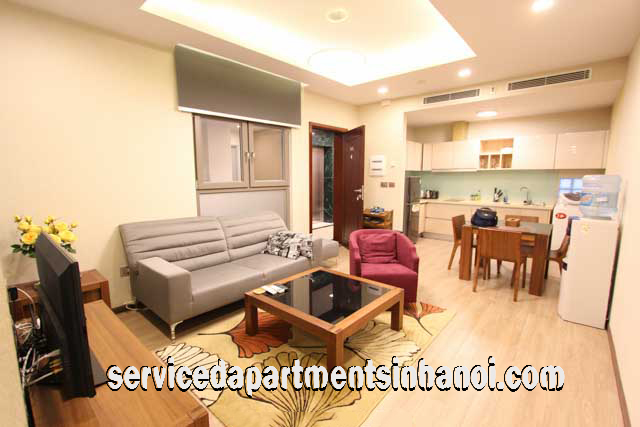 Stunning Modern Two Bedroom Apartment for rent near Lotte Center, Kim Ma Street