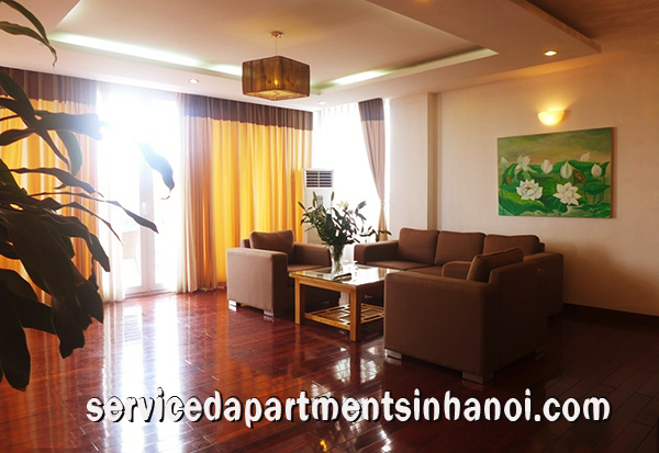Stunning Spacious two bedroom apartment rental in Truc Bach, Ba Dinh