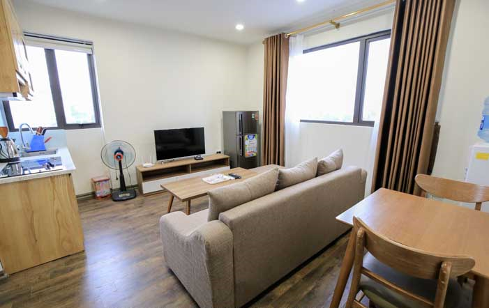 STUNNING Two Bedroom Apartment Rental in Dao Tan str, Ba Dinh -