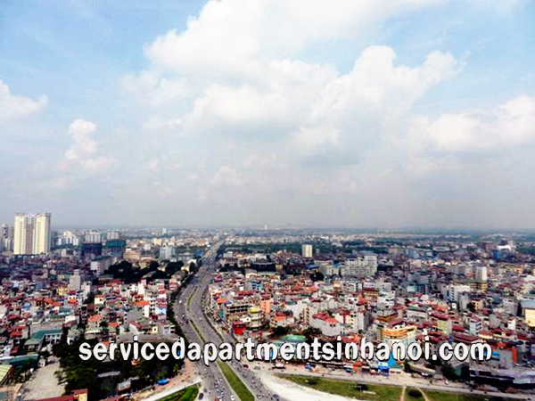 Three bedroom Apartment rental with nice View in IHP Complex Xuan Thuy str, Cau Giay