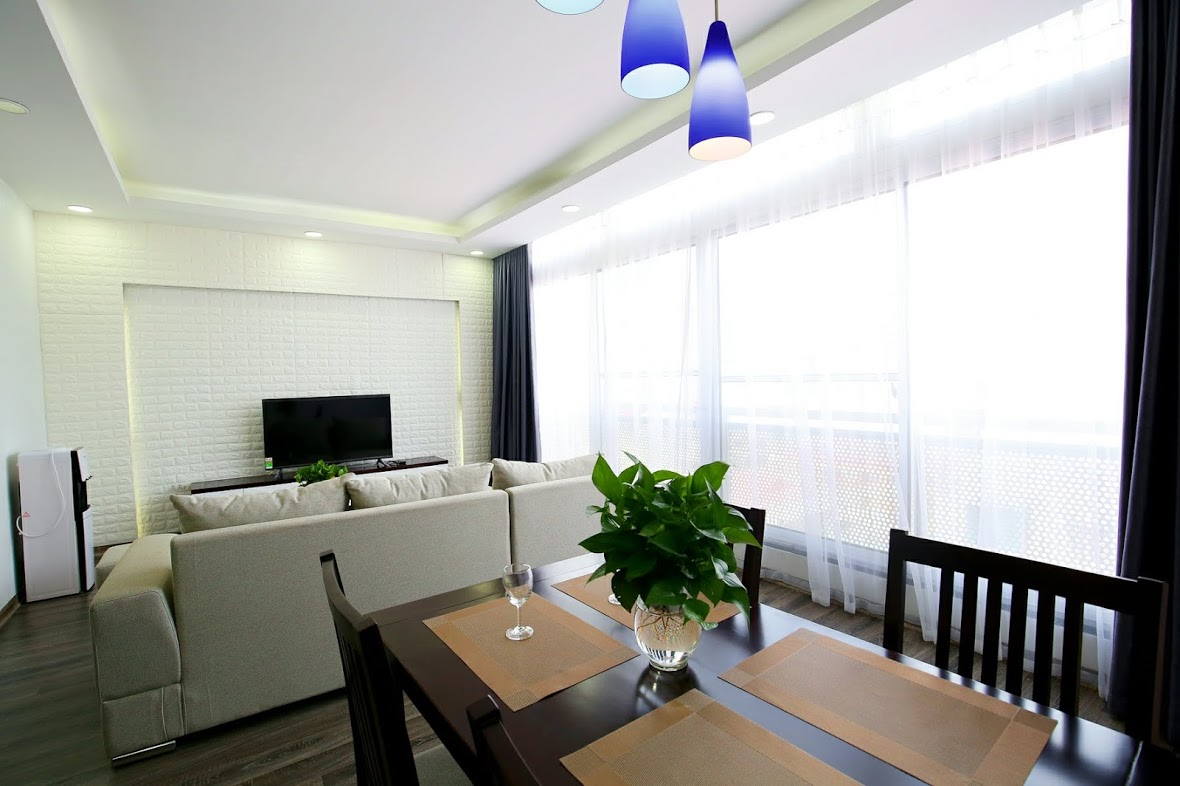 Two Bedroom Apartment for Rent near Kim Ma str, Ba Dinh