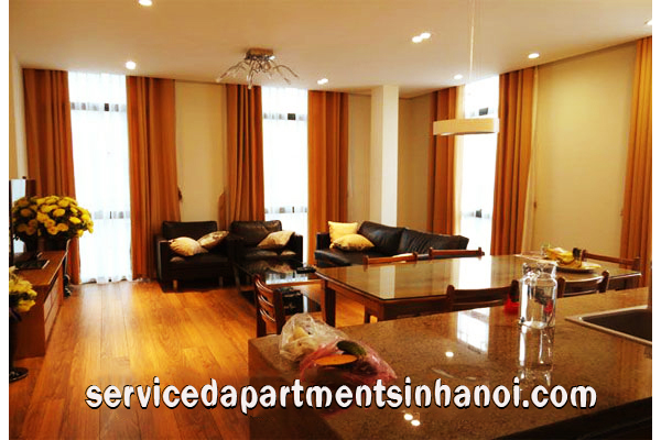 Two bedroom apartment Rental in Hoan Kiem, Partly Furnishings