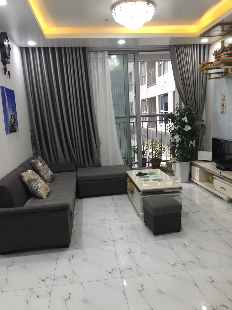 Two bedroom apartment rental in Vinhomes Gadernia, Ham Nghi str, Tu Liem