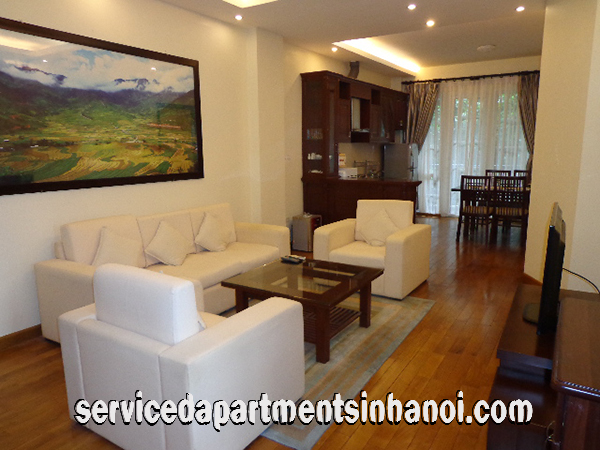 Two bedroom serviced apartment for rent near Hanoi Opera House