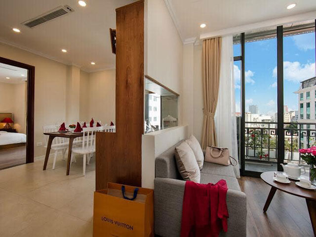 *Very Delicate & Eye-catching Apartment Rental in Hoan Kiem, Hanoi*