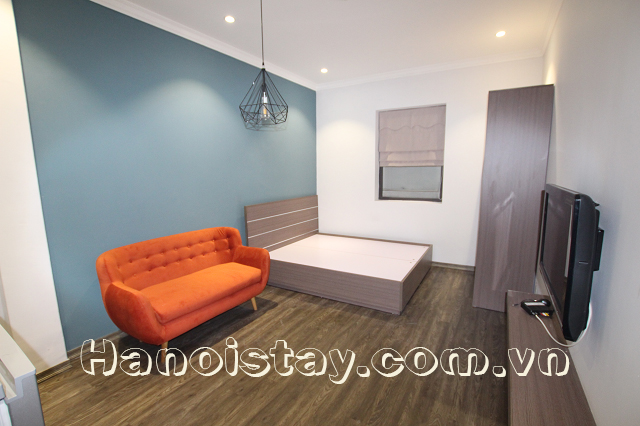 Very Modern Serviced Apartment Rental in Giang vo street, Dong Da