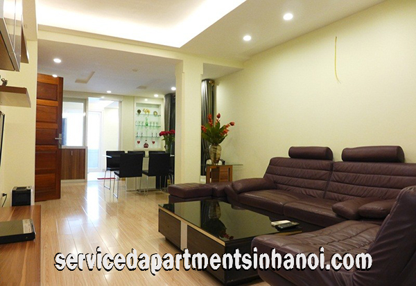Very Modern Three Bedroom Apartment Rental in Giang Vo street, Ba Dinh