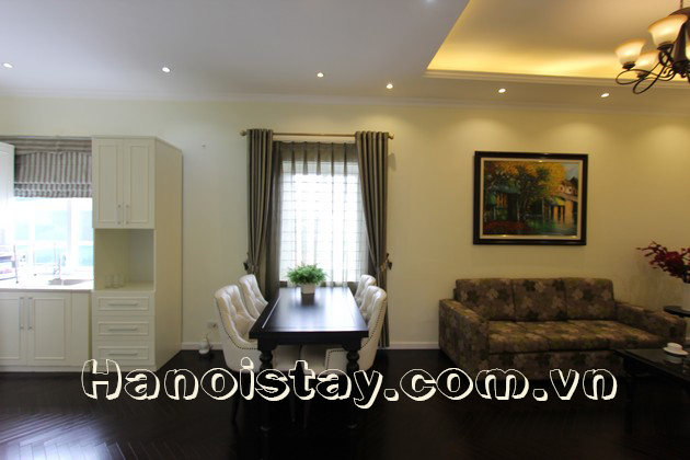 Very Modern Two Bedroom Apartment for rent in Giang Vo street, Dong Da
