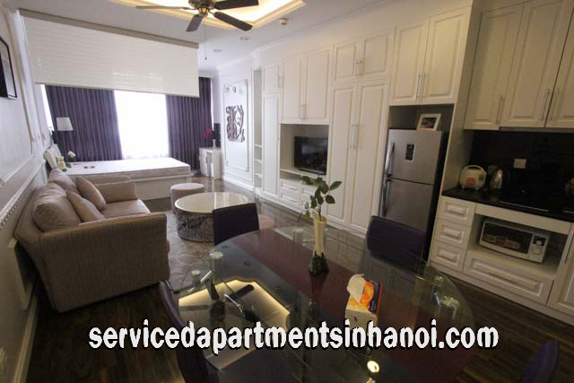 Very Nice Studio Type Apartment Rental in Lancaster Building, Ba Dinh