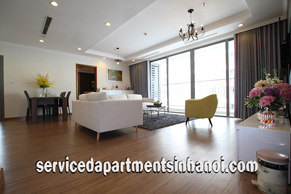 Very Nice Three bedroom Serviced Apartment Rental in Park Hill Times City, Hai Ba Trung district