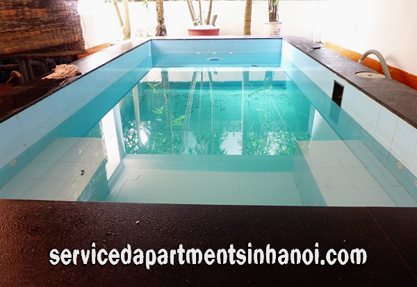 Very Nice Villa for rent in Dang Thai Mai with Lovely Balcony, Tay Ho