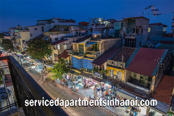 Very Stylish Serviced Apartment Rental in Hanoi Old Quarter, Center of Hoan Kiem