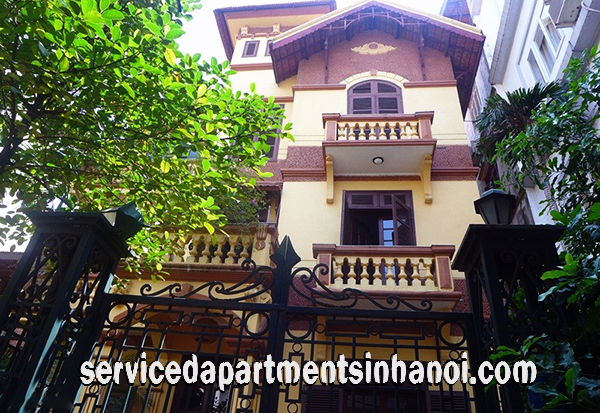 Well – Designed Four Bedroom House For rent in Nghi Tam Village, Tay Ho