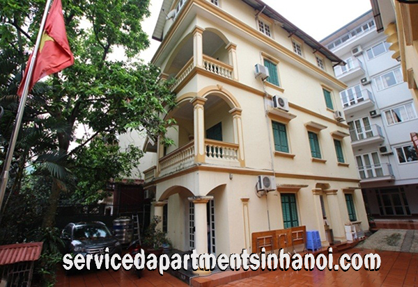 Well designed five bedroom Villa for rent in a Quiet alley of To Ngoc Van str, Tay Ho