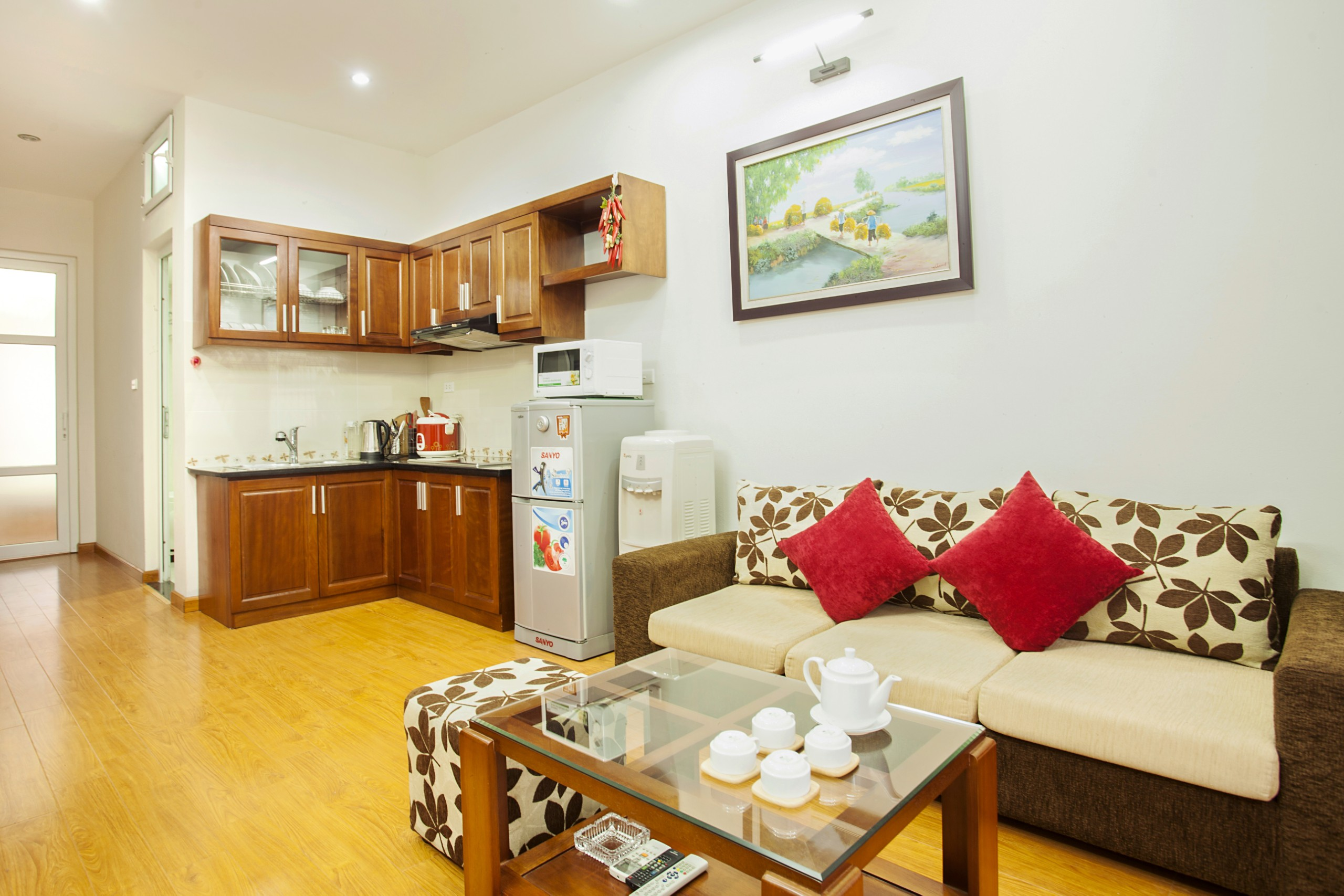 Well Designed Serviced apartment for rent in Lieu Giai street, Ba Dinh