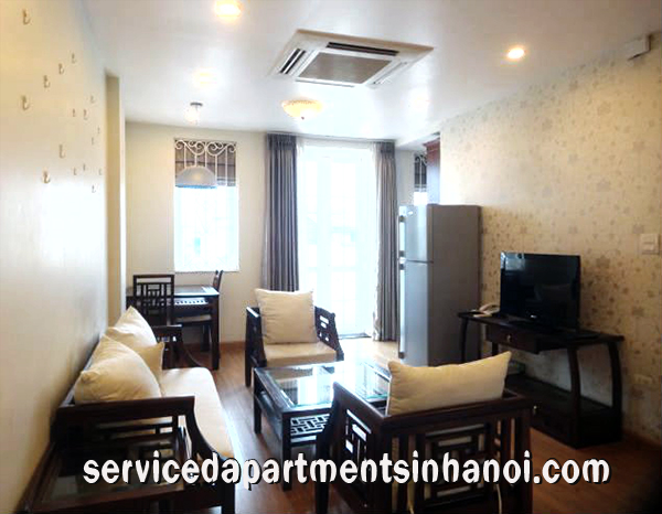 Well Interior One bedroom apartment Rental in Truc Bach Area, Ba Dinh