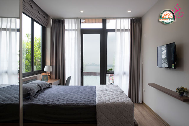 *West Lake View Serviced Apartment For Rent in Hanoi*